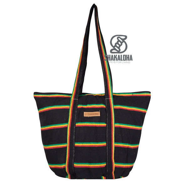 Shakaloha Heach Bag Rasta Color