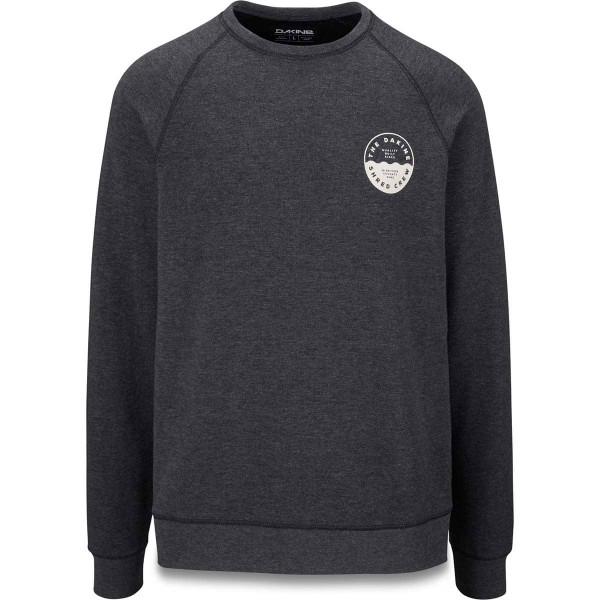 Dakine Weston Eco Fleece Sweatshirt Pullover Heren Heather Black