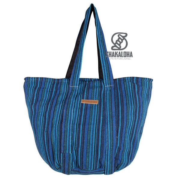 Shakaloha Heach Bag Blue Striped