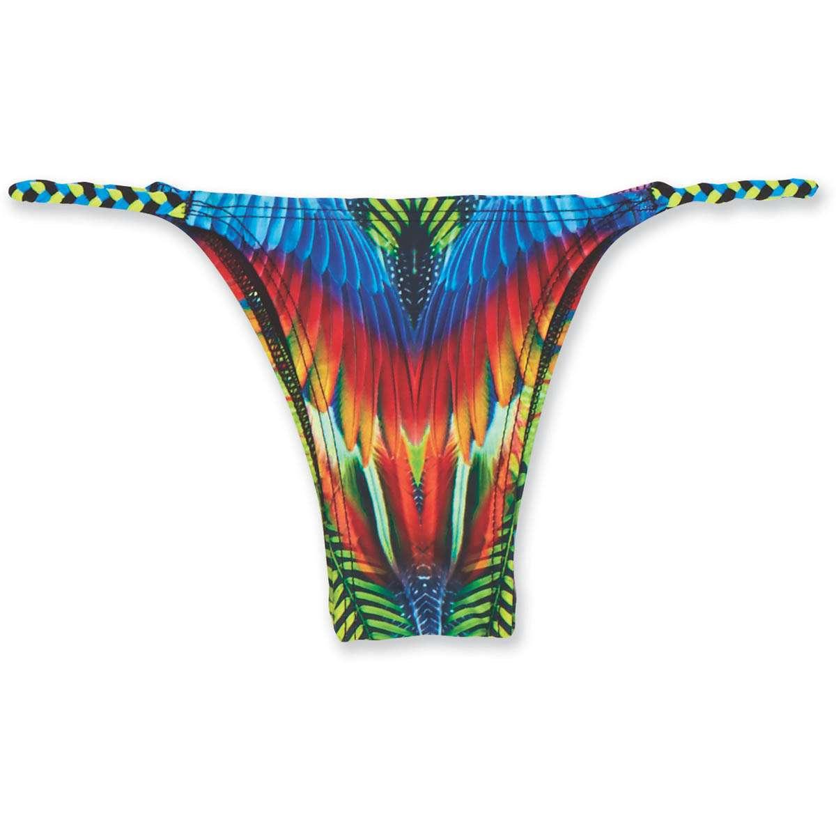 3aed979ce74 Dakine Kelli Braided Bottom Bikini Pants Cha Cha Cha | Dakine Shop